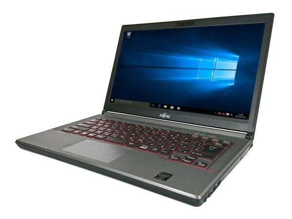 中古パソコン【Windows10】[F38B][無線LAN対応] 富士通LIFEBOOK E744/H(Core i5 4300M 2.6GHz 4GB 320GB DVD-ROM Windows 10 Pro 64bit)【中古PC】【アウトレット】
