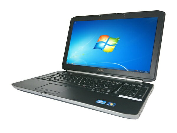 【中古パソコン】【Windows7】[D24A] DELL LATITUDE E5520 (Core i3 2350M 2.3GHz 4GB 320GB DVDマルチ Windows7 Professional 64bit)【中古】