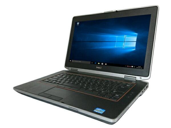 【中古パソコン】【Windows10】[D26A] DELL Latitude E6420 (Core i7 2640M 2.8GHz 4GB 250GB 14インチ DVDマルチ Windows10 Professional 64bit)【中古ノートパソコン】【中古PC】【アウトレット】