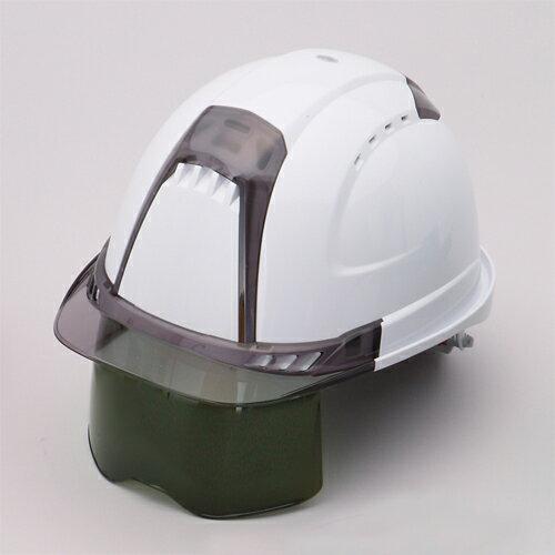 トーヨー ヘルメット Ventiプラス シールドレンズ内臓 391F-S-G 溶接面
