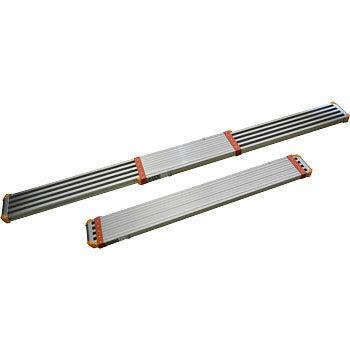 ピカ STGD-3623 3.6M アルミ伸縮足場板 アルミ両面使用型