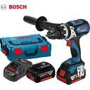 ボッシュ (BOSCH) 18V バッテリー振動ドライバードリル GSB18VE-EC 6.0Ah セット