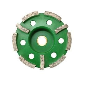 ゼクソン(ZEXON) ダイヤモンドドライサーフェーサー 125mm ZDW-5 5インチ 穴径15mm コンクリートの面取り・バリ取り