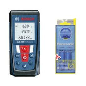 ボッシュ レーザー距離計 GLM7000J3 ピタゴラス機能付! 充電池単四4形2本、充電器付!! BOSCH