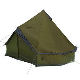 【2020年モデル】Grand Canyon (グランドキャニオン) Indiana (インディアナ)8人用 ワンポール テント オリーブ