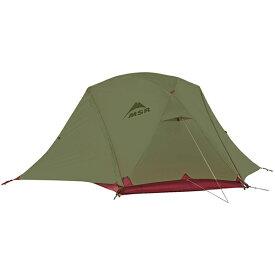 【2018年モデル】MSR エリクサー4 / Elixir4 [4人用] テント ヨーロッパカラー グリーン /フットプリント付き