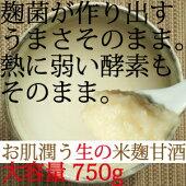 米と麹のみで作る甘酒安心して使える無添加九州産甘酒750g