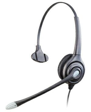 HY104NV コールセンター用 業務用電話ヘッドセット、固定電話ヘッドセット、電話機の環境によって様々なオプションケーブルを使用可能!