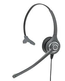 GENETIVE HD028NW 固定電話 ヘッドセット、コールセンター ヘッドセット、業務用ヘッドセット、ビジネスフォン ヘッドセット、アンプなしで接続タイプ、電話 子機 ヘッドセット、ビジネスホン、NTT、NEC、サクサ、パナソニック、Cisco(HD027N/HD027NXの後継モデル)