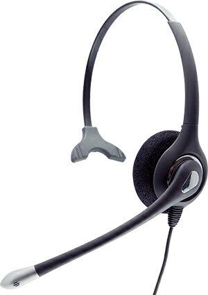 HD036Nコールセンター用ヘッドセット、業務用電話ヘッドセット、固定電話用電話ヘッドセット、高感度マイク・ノイズ低減・壊れにくい設計、アンプなしで接続タイプ、電話機の環境によって様々なオプションケーブルを使用可能!