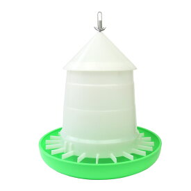 【給餌量調節機能付き】鳥用自動給餌器 容量3Kg (屋根付き) 【ニワトリ・ウコッケイ・キジ類用】