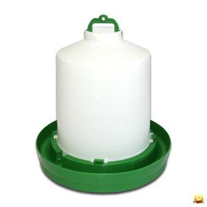 【給水口付】自動給水器 8.5Lペット給水器【鳥 ニワトリ キジ類用】