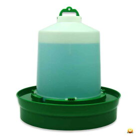 【給水口付】自動給水器 8.5L(高受皿) 【ニワトリ キジ類用】
