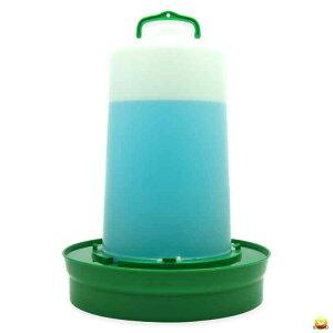 【給水口付】自動給水器(高受皿) 12L 【ニワトリ キジ類用】