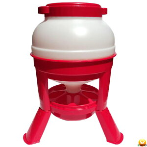 【餌入れ】ホッパー式自動給餌器 容量17Kg 【にわとり・キジ・ウコッケイ】
