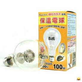アサヒ ヒヨコ保温電球 硬質ガラス 100W