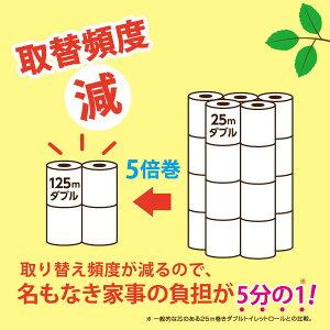 芯なし/トイレットペーパー/ダブル/トイレットペーパーダブル/超ロング4R×8(ダブル)