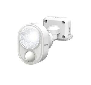 ライテックス 4W×1灯 LED センサーライト コンセント式 防雨タイプ ハロゲン60W相当 LED-AC103