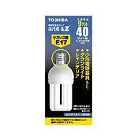 【メーカー在庫限り】東芝 電球形蛍光灯ランプ ネオボールZ 電球40ワットタイプ D形 3波長形昼光色 EFD10ED/9-E17