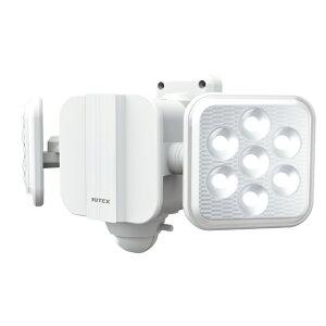 ライテックス LED センサーライト 乾電池 5W×2灯 フリーアーム式 LED-270