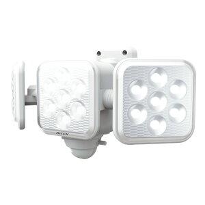 ライテックス LED センサーライト 乾電池 5W×3灯 フリーアーム式 LED-320