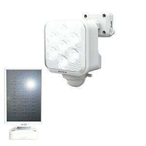 ライテックス LED センサーライト ソーラー 5W×1灯 フリーアーム式 S-110L