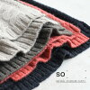 打破編織物最好/電纜製造編織物圓領素色頂端編織物最好SO[]羊毛混合繩子製造以後去,覆蓋體型的大人天然的so+Ms,Ls,/秋天冬天女士1820AW0109,x05,