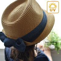帽子リボンペーパーハットハット日よけストライプ無地ドットむぎわら帽子レディース夏/バックリボン後ろリボン紫外線対策ネイビーナチュラルブラックおしゃれキレイ大人のかわいいz+/1620SS0422,母の日,