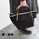 トートバッグ ナイロン×イタリアンレザー 2WAYハンドバッグ バッグ /ショルダーバッグ 無地 鞄 手提げ かわいい カ…