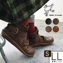 ショートブーツ 靴 シェイクインクローク カエルマーク アンクルベルトブーツ /かわいい フェイクレザー 大人 ナチュ…
