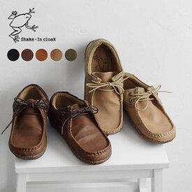 モカシン 靴 シェイクインクローク カエルマーク モカシンシューズ モカシン 歩きやすい /フェイクレザー 大人 ナチュラル ローシューズ フラットシューズ Sm,Ms,Ls,LL, z+/ 秋 冬 レディース 2120AW0917,