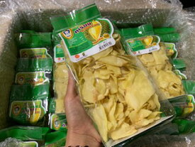 即配送!4個セットお買い得入荷しました、即発送Durian chips 高級ドリアンチップス 大容量200g タイから直輸入