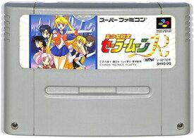 SFC 美少女戦士セーラームーンR 前面シールにヤケ有(ソフトのみ)スーパーファミコン【中古】