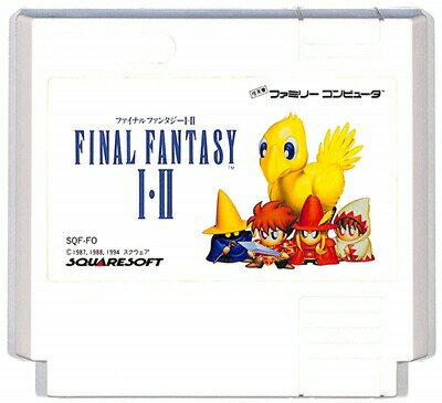 ファミコン ファイナルファンタジー1・2 (ソフトのみ)FC【中古】
