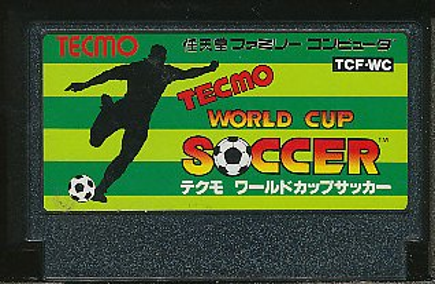 ファミコン テクモワールドカップサッカー (ソフトのみ)【中古】