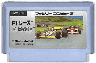 ファミコン F1レース (ソフトのみ)【中古】