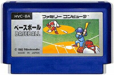 ファミコン ベースボール (ソフトのみ)【中古】