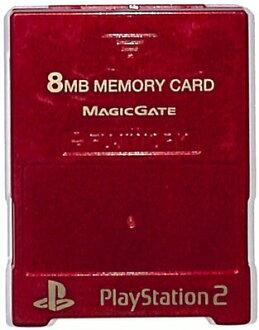 PS2 記憶卡-MAJICGATE (紅色)