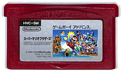 GBA スーパーマリオブラザーズ (ソフトのみ)ゲームボーイアドバンス【中古】