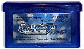 GBA ポケットモンスター サファイア 電池交換済み (ソフトのみ) ポケモン ゲームボーイアドバンス【中古】
