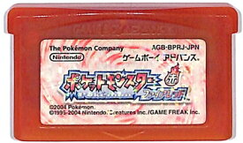 GBA ポケットモンスター ファイアレッド (ソフトのみ) ポケモン ゲームボーイアドバンス【中古】