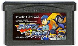 GBA ロックマン&フォルテ (ソフトのみ)【中古】