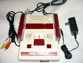 【中古】 初代 ファミコン本体/赤白ファミコン本体 AV仕様改良本体 任天堂(美品)数量限定