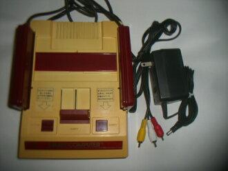 Original NES console / red white FC AV specifications improved body Nintendo nes (many 色yake)