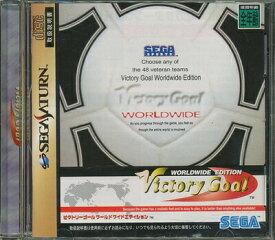 【SS】ビクトリーゴール ワールドワイドエディション 【中古】セガサターン