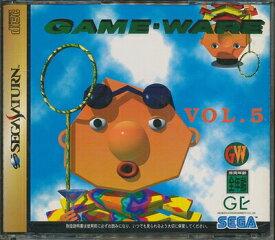 【SS】ゲーム ウェア Vol.5 帯付き【中古】セガサターン