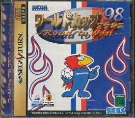 【SS】ワールドカップ'98 フランス ロード トゥ ウィン 【中古】セガサターン