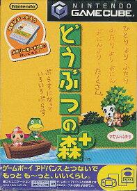 【GC】どうぶつの森+ メモリーカード・紙ケースなし ゲームキューブ 【中古】