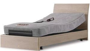 シモンズベッド ソフトカーブ soft curve セミダブル 2モーター電動ベッド 介護ベッドとしても マットレス付き ウェイクアップベッド 送料無料 自立支援 木製 シンプル simmons