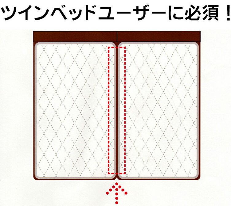 ベッドオプションパーツ すきまスペーサー ドリームベッド 隙間対策 段差解消 仲良しパッド 綿ベッドパッド 人気便利商品 送料無料 日本製【モデルチェンジ版】【あす楽】